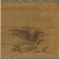 【打印级】GH6085571古画树木植物-竹景立轴图片-38M-2678X5000_18028879