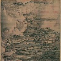 【打印级】GH7270707古画宋-李成 寒鸦图卷 纸本A版长卷图片-113M-8973X2207