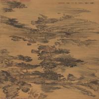 【印刷级】GH7270837古画山水长卷图片-264M-18469X3716_20251129