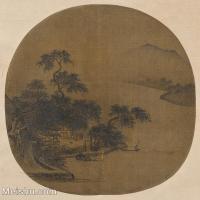 【印刷级】GH6080901古画山水风景Hsia-Sen,-active-小品图片-28M-3200X3160