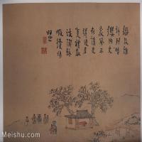 【印刷级】GH6152941古画册页山水清高翔扬州即景图册(质量差图书扫描)1图片-122M-7216X5920