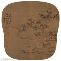 【印刷级】GH6081029古画山水风景马和之-月色秋声图小品图片-50M-3281X4189_2055437