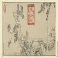 【印刷级】GH7280514古画植物邹一桂四君子图大英镜片图片-101M-10277X3445