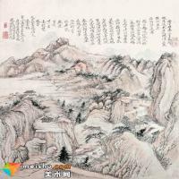 九歌春拍精品赏析:石涛《送牧老之闽海山水》