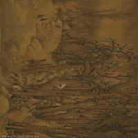 【超顶级】GH7280101古画山水风景寒鸭图镜片图片-271M-15575X4878_19113320