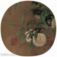 【印刷级】GH6156039古画宋人册页 花鸟花卉小品图片-37M-3704X3545