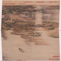 【印刷级】GH7270870古画明-仇英-赤壁图-绢本-B版长卷图片-225M-18461X3204