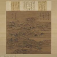 【打印级】GH6088648古画山水风景明-董其昌-林和靖诗意轴-故宫博物院藏立轴图片-55M-2791X6931_28806583