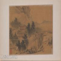 【欣赏级】GH6081074古画山水风景小品图片-5M-1726X1089
