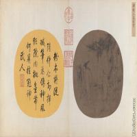 【印刷级】GH6080559古画人物宋-梁楷-三高游赏图页小品图片-168M-10284X5715
