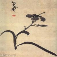 【欣赏级】GH6064775古画清朱耷八大山人-花鸟画册-(2)册页图片-3M-1000X1233