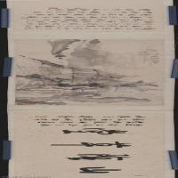 【印刷级】GH7271104古画清-虚谷山阴草堂图A版长卷图片-390M-33071X4131