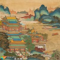 荣宝斋(上海)秋拍精品:黄秋园《春宫泛舟图》