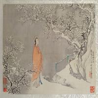 费丹旭十二金钗图册-清朝-人物