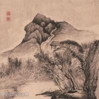 【印刷级】GH6062478古画石涛-设色山水(8)册页图片-43M-3931X3348