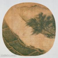 【印刷级】GH6081065古画山水风景小品图片-28M-3200X3061