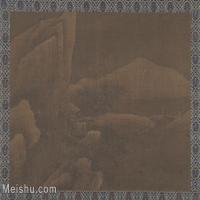 【欣赏级】GH6081153古画山水风景古代-山脉江河小品图片-8M-2000X1530