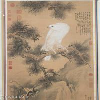 【超顶级】GH6085104古画花鸟鲜花卉立轴图片-352M-9840X12535_14374197