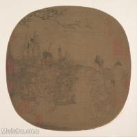 【印刷级】GH6080691古画人物古代-生活场景卖货翁小品图片-41M-3849X3757