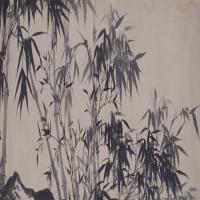 石涛高呼与可图卷-清朝-花鸟