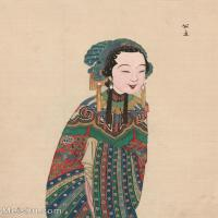 【印刷级】GH6061439古画脸谱(21)-人物-公主册页图片-38M-3255X4169