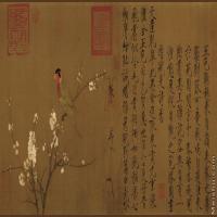 【超顶级】GH7280214古画花鸟五色鹦鹉镜片图片-167M-10699X4575