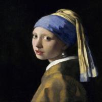 维米尔-戴珍珠耳环的少女