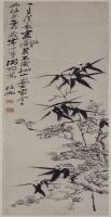 郑燮梅竹图轴-清朝-花鸟