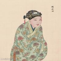 【印刷级】GH6061451古画脸谱(32)-人物-阎槎珊册页图片-38M-3280X4133