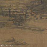 【欣赏级】GH6081022古画山水风景许道宁-渔父图-副本-小品图片-6M-1340X1601