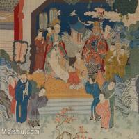 【印刷级】GH6080684古画人物古代-帝王赏绘图小品图片-34M-4000X3001_18721773