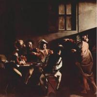 卡拉瓦乔-圣马太蒙召画作赏析