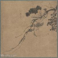 【印刷级】GH6080801古画树木植物唐绘手鑑笔耕园-小品图片-80M-5478X5149