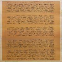 【打印级】SF6031280书法长卷明-王宠 自书五忆歌卷B版图片-80M-16758X1670