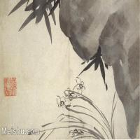【欣赏级】GH6064790古画清朱耷八大山人-花鸟画册-(4)册页图片-4M-1520X1000