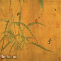 【打印级】GH7280207古画花鸟草虫图镜片图片-49M-5375X3204