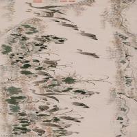 【超顶级】GH7280121古画动物千雁图纸镜片图片-152M-16876X4134_19001030