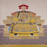 【打印级】GH6086212古画人物清-佚名-宣宗朝服像立轴图片-44M-3020X5147_55938885