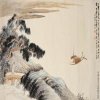 【超顶级】GH7280085古画山水风景大涤子镜片图片-190M-10321X4828