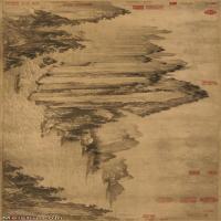 【超顶级】GH7280129古画山水风景武元直赤壁图镜片图片-415M-19115X7303_6764920