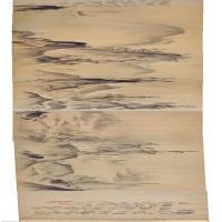 【印刷级】GH7270838古画山水图卷长卷图片-347M-46567X2606