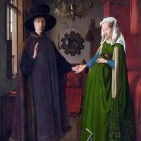 杨·凡·艾克-阿尔诺芬尼夫妇像画作赏析