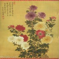 【打印级】GH6060472古画清张伟写生花卉册11册页图片-10M-1700X2059