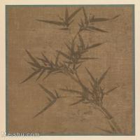 【印刷级】GH6080803古画树木植物唐绘手鑑笔耕园-小品图片-100M-5704X6187