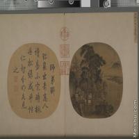 【印刷级】GH6081052古画山水风景小品图片-638M-12591X8858
