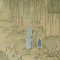 丁皋靳介人画像卷-清朝-人物