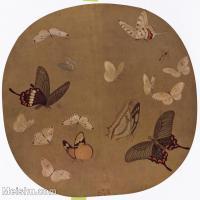 【印刷级】GH6156013古画宋人册页 动物小品图片-47M-4175X3984