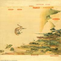 【超顶级】GH7280171古画山水风景赤壁图代绢改章镜片图片-319M-24094X5419