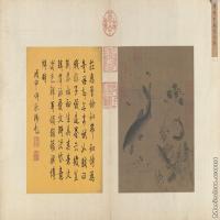 【印刷级】GH6080127古画动物宋-春溪水族图页-故宫博物院-小品图片-166M-10294X5646
