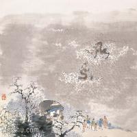 【印刷级】GH6061580古画任薰-生肖人物图册(3)-动物-辰龙册页图片-57M-5652X4209_57062498